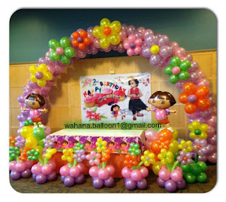 aneka paket dekorasi balon ulang tahun anak