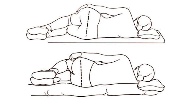 Descubre cómo dormir correctamente para aliviar los dolores de espalda