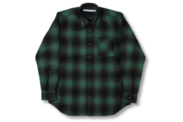 JOHN LAWRENCE SULLIVAN [ チェックシャツ ] GREEN