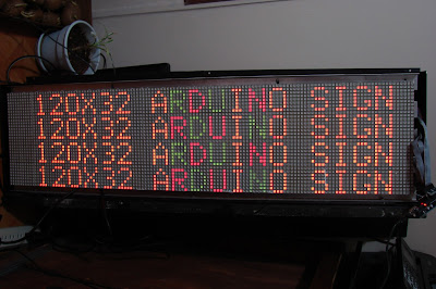 Arduino Bitmap Array