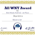 ALL WNY MUSIC AWARD: Best Music Festival - Music is Art