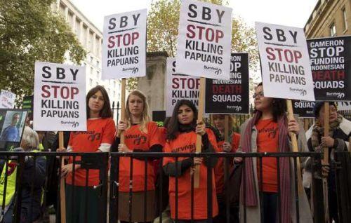 Unjuk rasa kunjungan SBY di Inggris