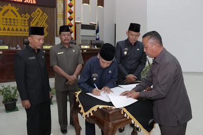 Perda APBD-P Pringsewu 2018 Disahkan