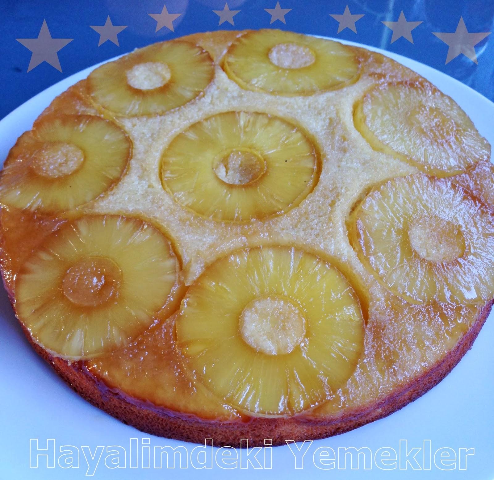 Ananaslı Muzlu Kek Tarifi