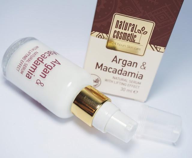 Natural Cosmetic - Argan & Macadamia Bio Lifting Serum