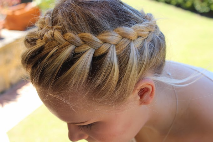 Relaxed Crown Braid | Cate Renée