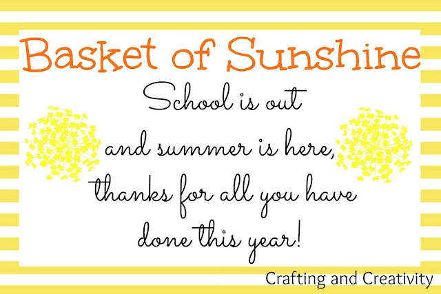 photo about Basket of Sunshine Printable named Producing and Creative imagination: \