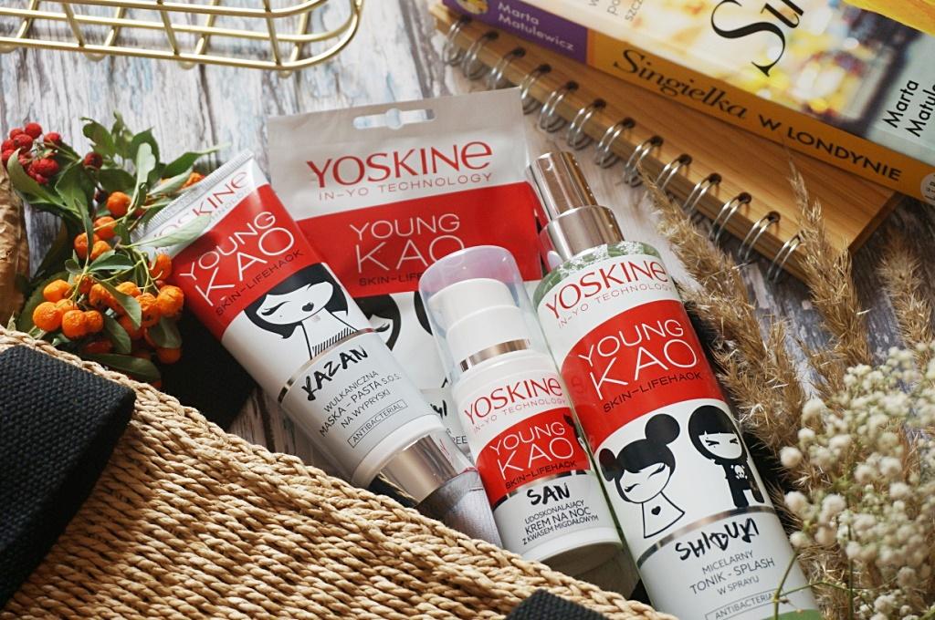 Yoskine Young Kao cera z niedoskonałościami