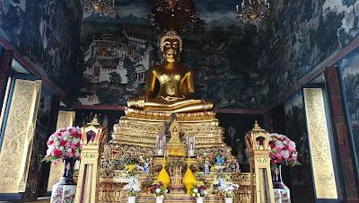 Estatua de Budda en Bangkok