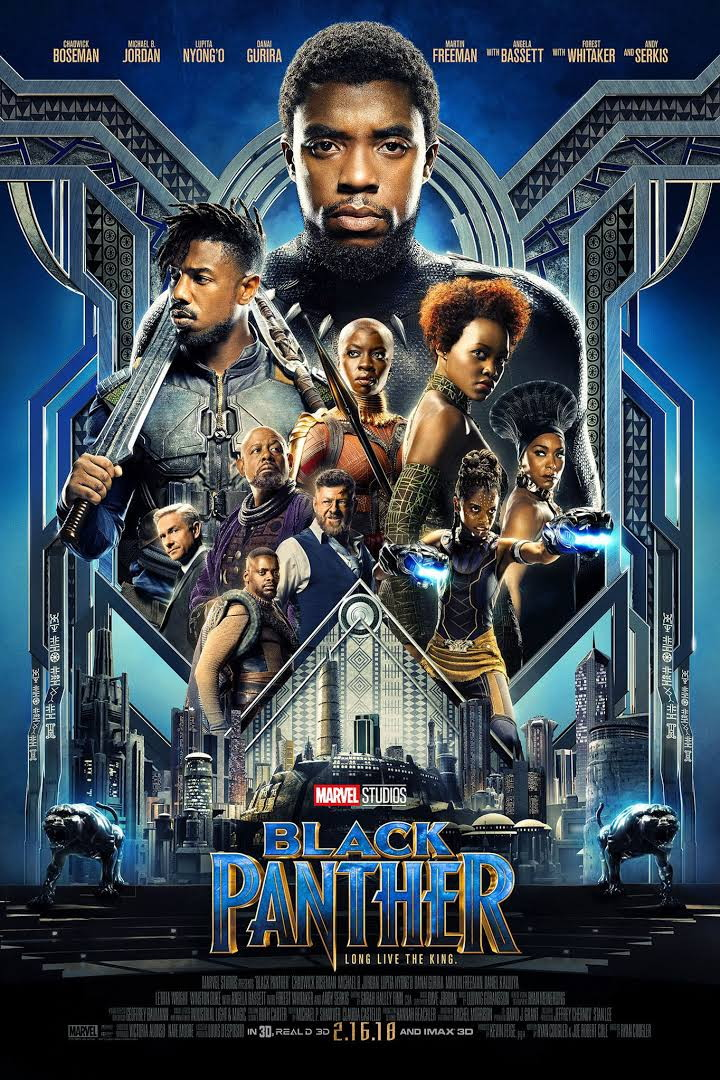 Black Panther 2018 Full BRRip 720p Movie Download Dual Audio