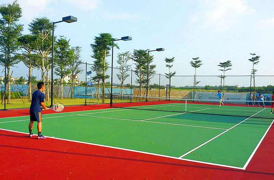 Sân tennis hiện đại của Swan Bay