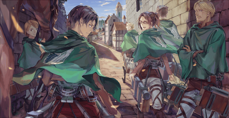 Tugas pasukan pengintai di luar dinding
