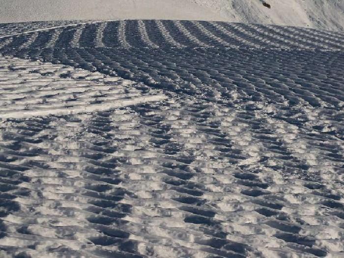 Рисунки на снегу. Simon Beck 6