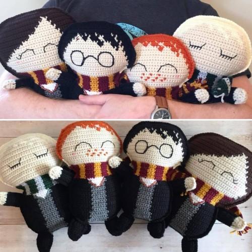 Ragdoll Harry Potter - Free Crochet Pattern