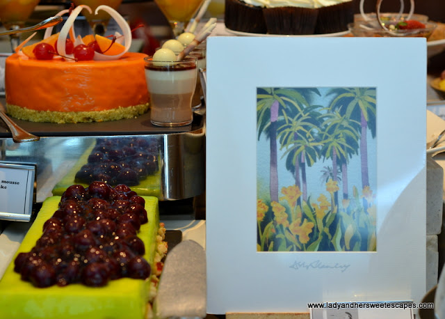 sweets at Movenpick Dubai Brunch