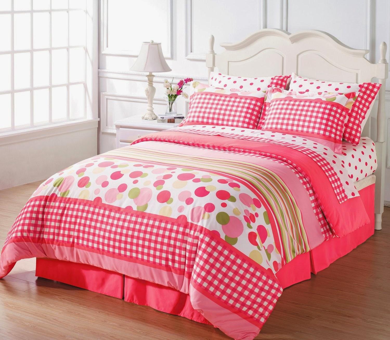 bedroom decor ideas and designs top ten polka dot bedding for girls. Black Bedroom Furniture Sets. Home Design Ideas