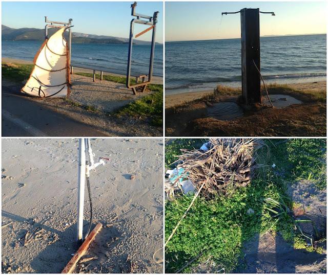 Παραλία Δρεπάνου: Ανύπαρκτοι και Αδιάφοροι φορείς, για ακόμα μια φορά