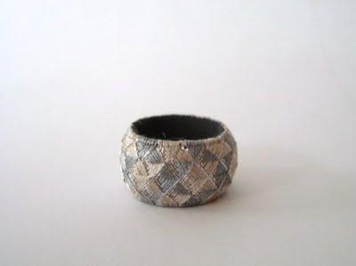yubinukis, dedales, Japón, costura, dedal, anillos, hilos, arte japones