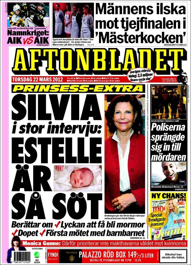 0c9a165db44f Drottning Silvia berättar om Prinsessan Estelle och om dopet