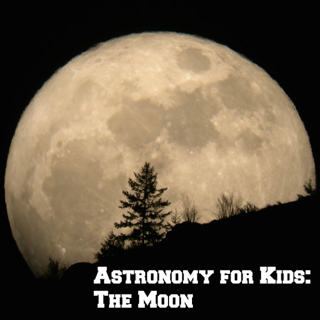 Moon Unit Study for Upper Elementary and Middle School