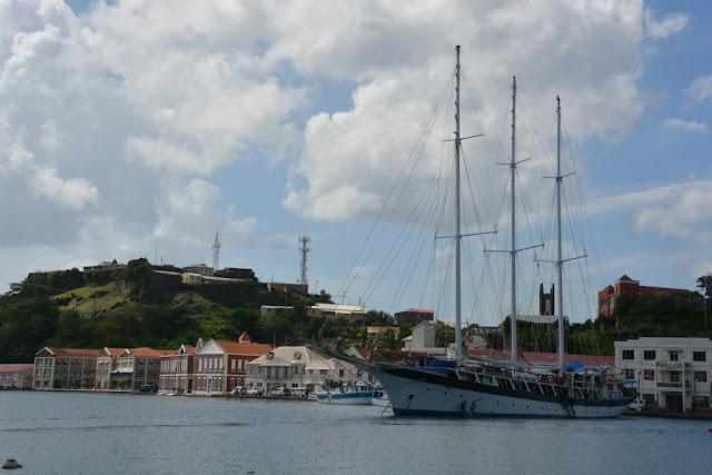 St. George Grenada three master