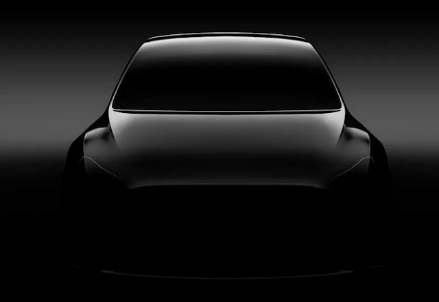This is the only Model Y teaser that's been made public thus far. It's... a teaser.