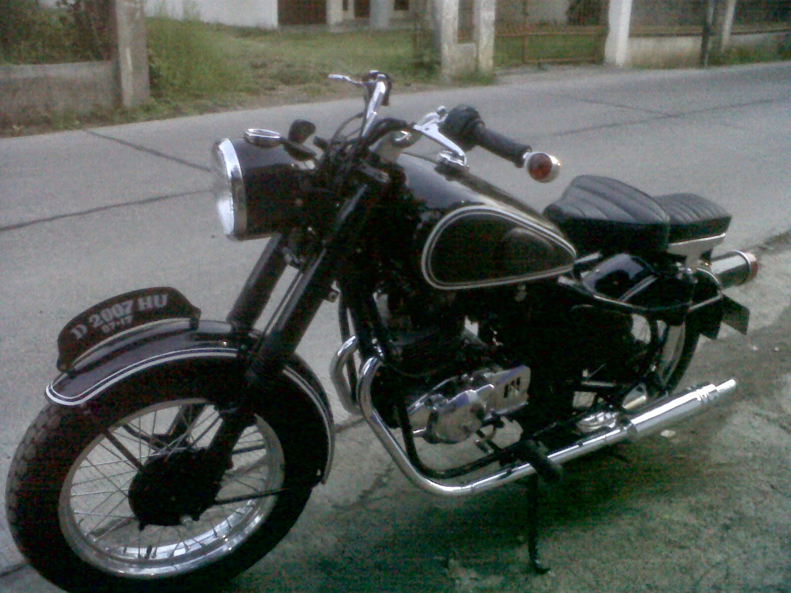 Modifikasi Suzuki Thunder Modifikasi Sepeda Motor
