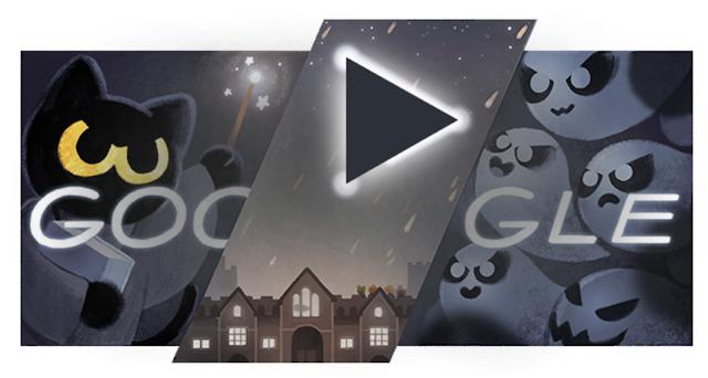日替わりで変わるGoogle検索のロゴ「Doodle(ドゥードル)」とは?ハロウィン誰もが楽しめるゲーム