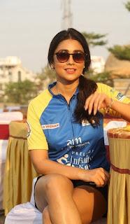 Actress Shriya Saran Stills at Infinity Ride 2016  0011