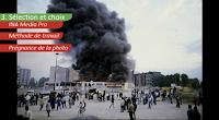 Un exemple d'émeutes