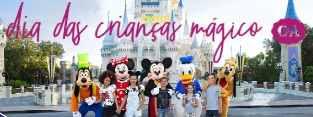 Promoção Dia das Crianças 2018 C&A Viagens Disney