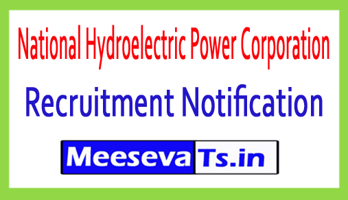 National Hydroelectric Power Corporation NHPC Recruitment