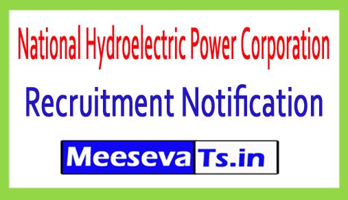 National Hydroelectric Power Corporation NHPC Recruitment