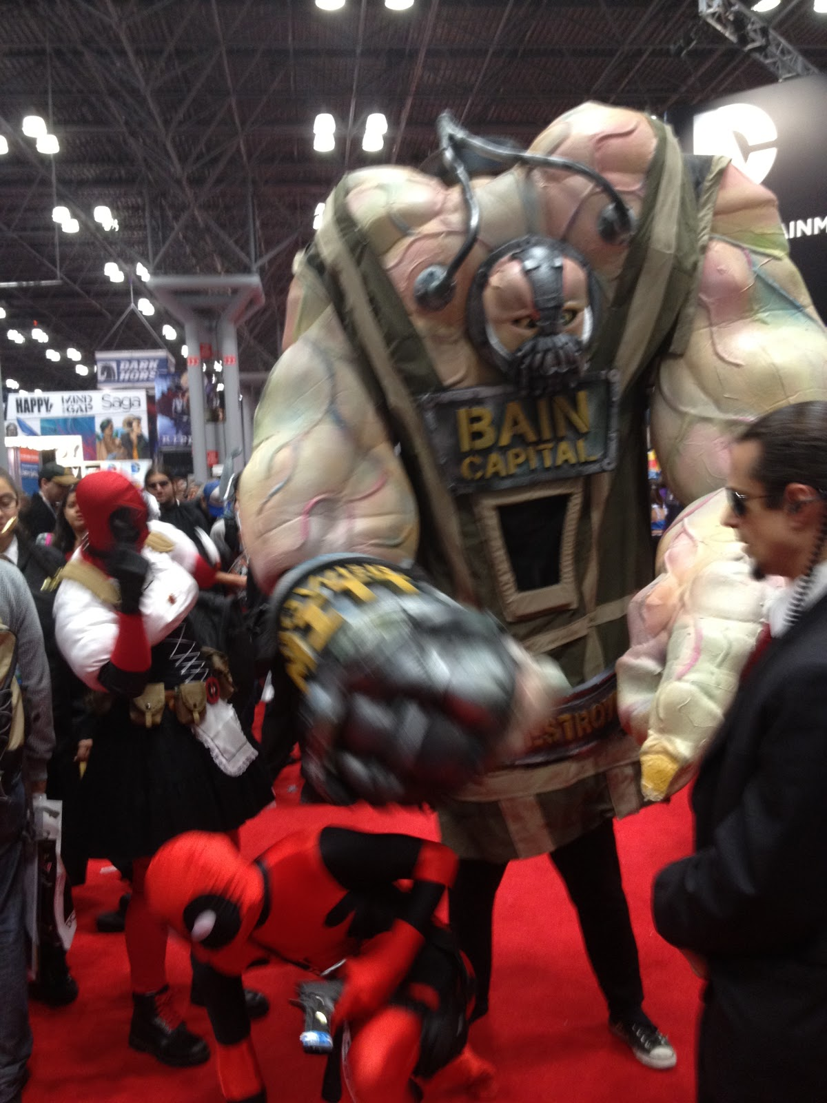 The Sound A Doggy Makes & The Sound A Doggy Makes: The Ballsiest Costumes of NY Comic Con 2012!