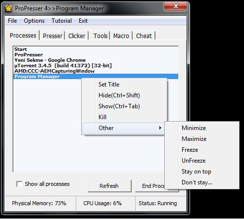 ProPresser: ProPresser v4 1, auto key presser, clicker for games
