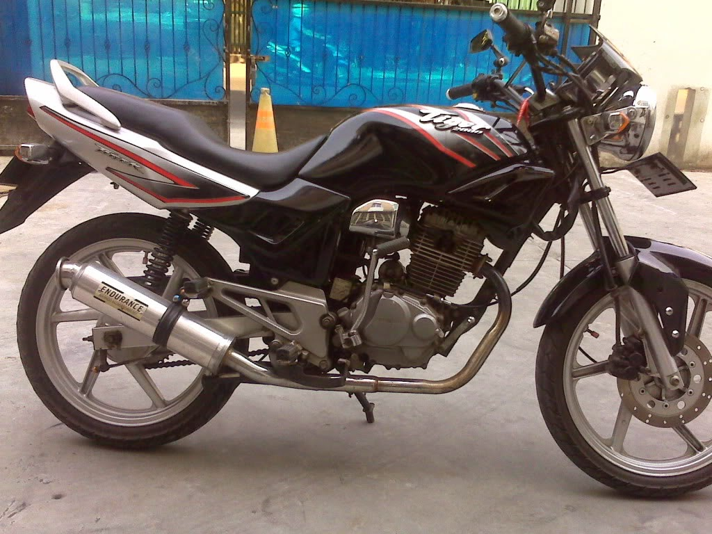 Honda Tiger Modifikasi Uring