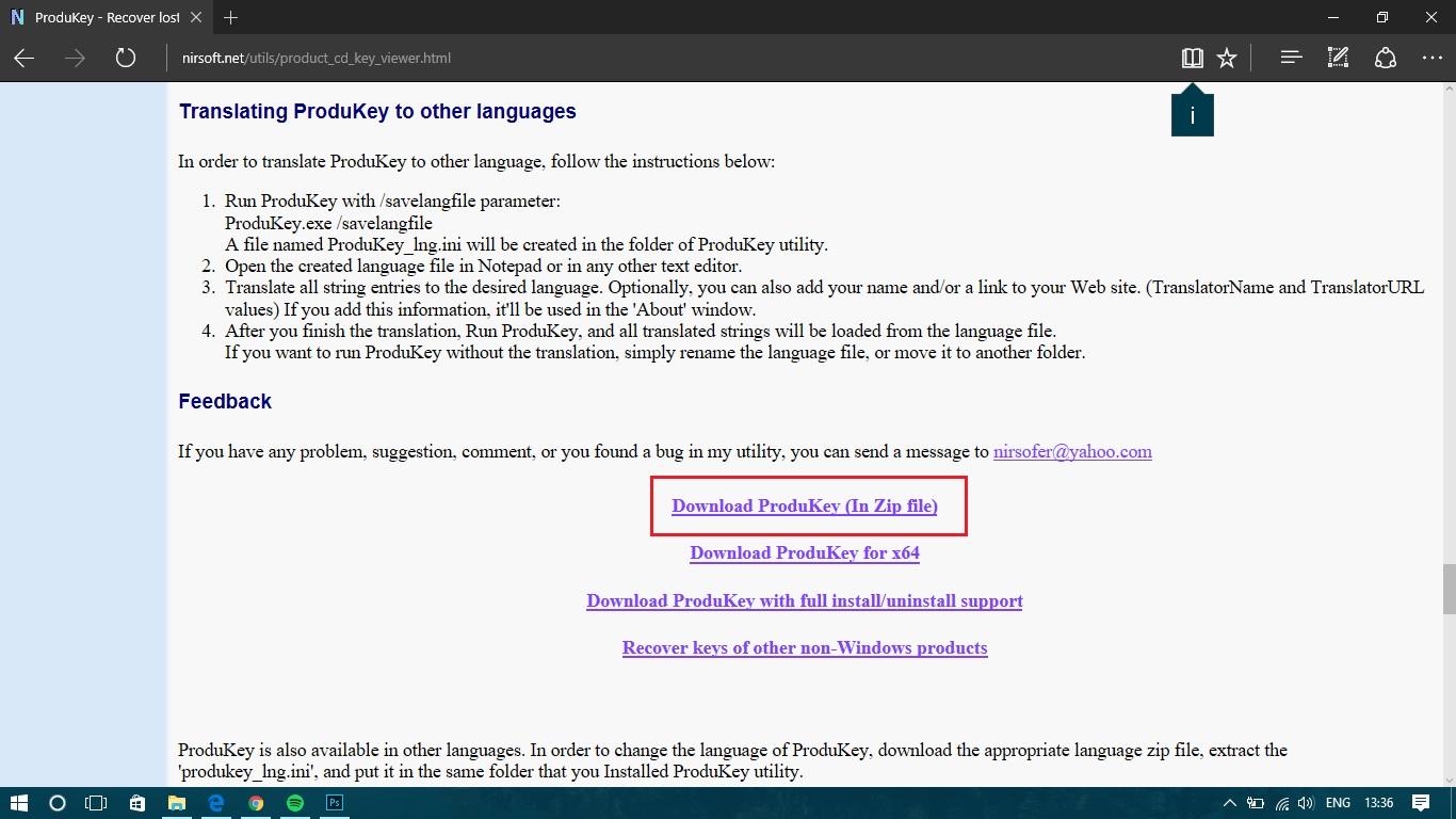 Cara Melihat Product Key Lisensi Windows Dan Office Alisbach 10 Pro Plus 2016 Original Menampilkan Serial