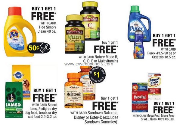 buy one get one free cvs