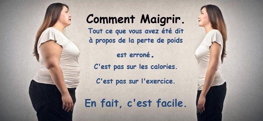 conseils pour perdre du poids facile