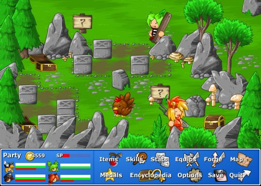 screenshot-2-of-epic-battle-fantasy-5-pc-game