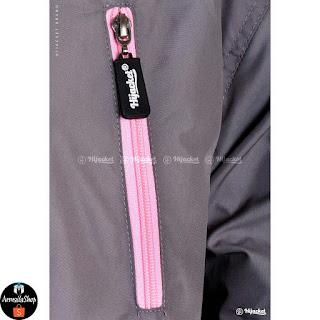 Hijacket Parka Montix Warna Grey x Pink Jaket Petualang