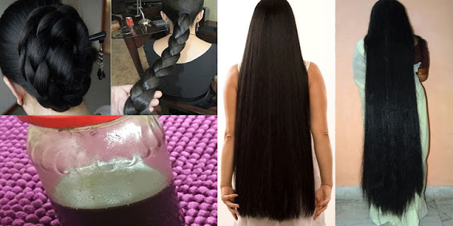 Just Use These Natural Ingredients And Grow Your Hair Like Crazy!
