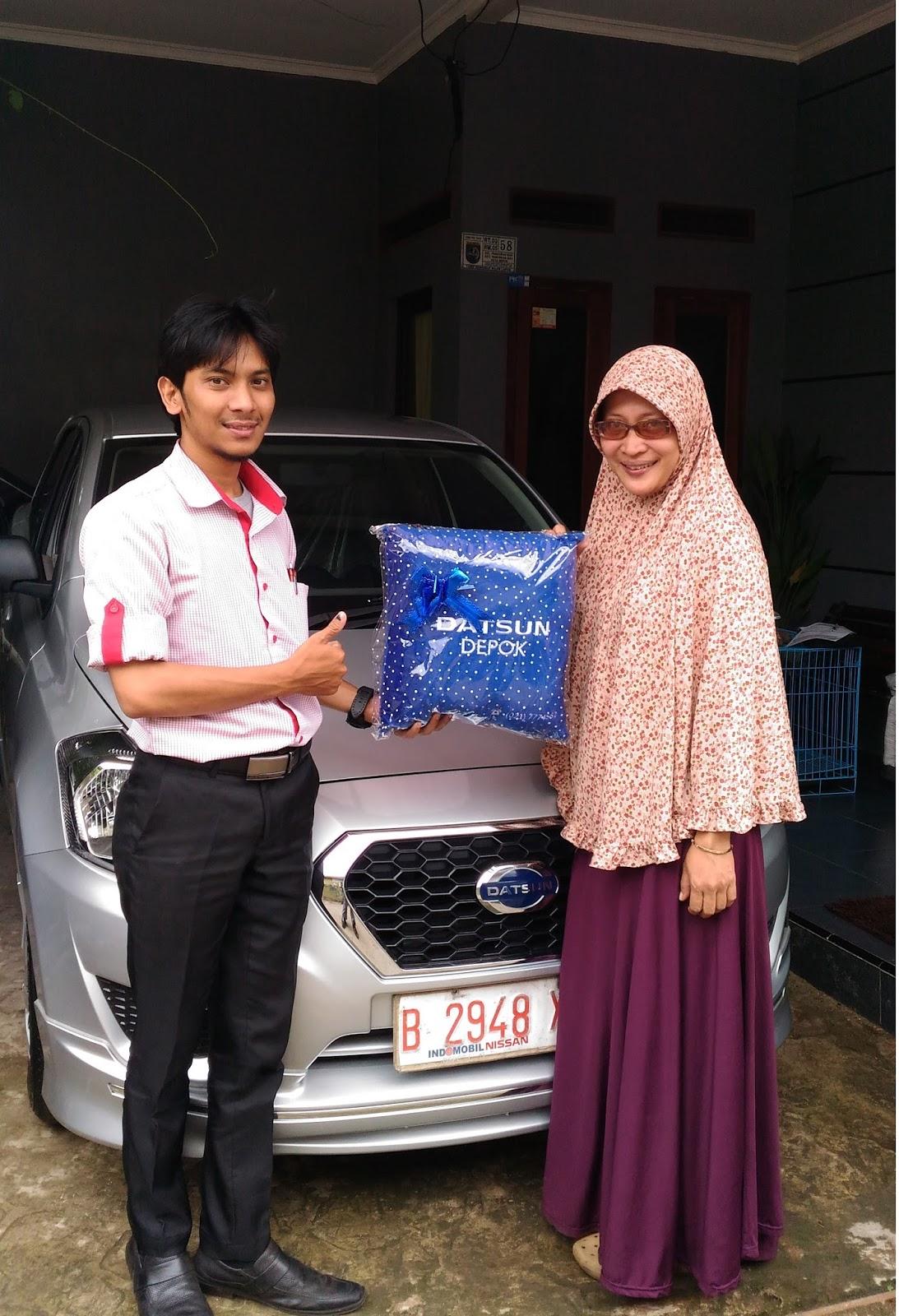 Terimakasih atas kepercayaan Bu Rani & Keluarga yg telah membeli Datsun Go+ T.Style melalui media www.touchnissan.com.  Semoga Berkah ya Bu...