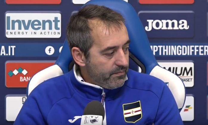 La conferenza stampa di Marco Giampaolo alla vigilia di Napoli Sampdoria