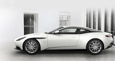 Aston Martin DB11aerodynamic functional