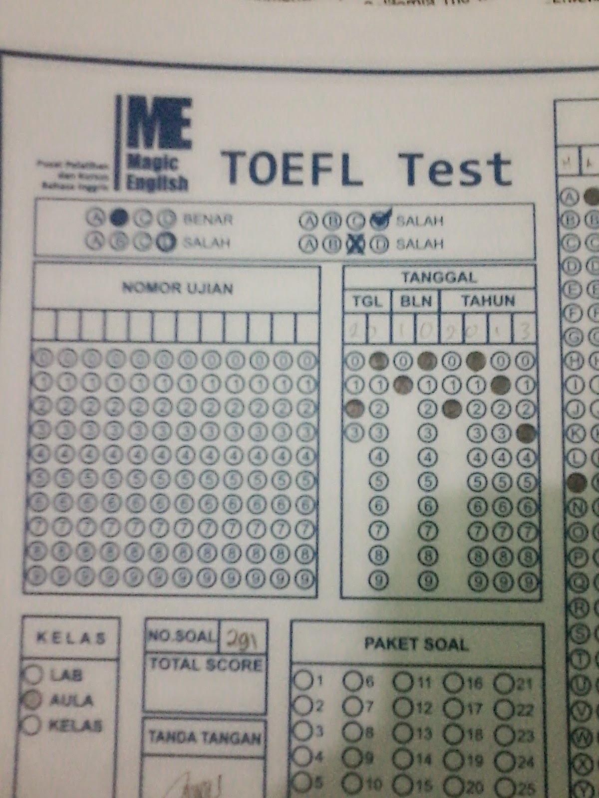TOEFL Magic English