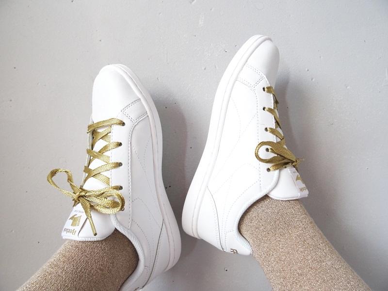 baskets blanches reebok