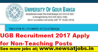 UGB-Non-Teaching-Posts-Recruitment-2017