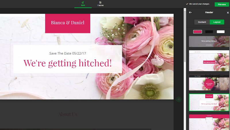 How to Create Your Own Wedding Website - learn to DIY a beautiful, personal wedding website without any technical knowledge and under 1 hour! by BirdsParty.com @BirdsParty