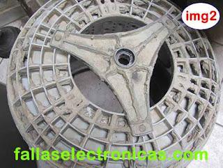 tambor de lavadora para mantenimiento